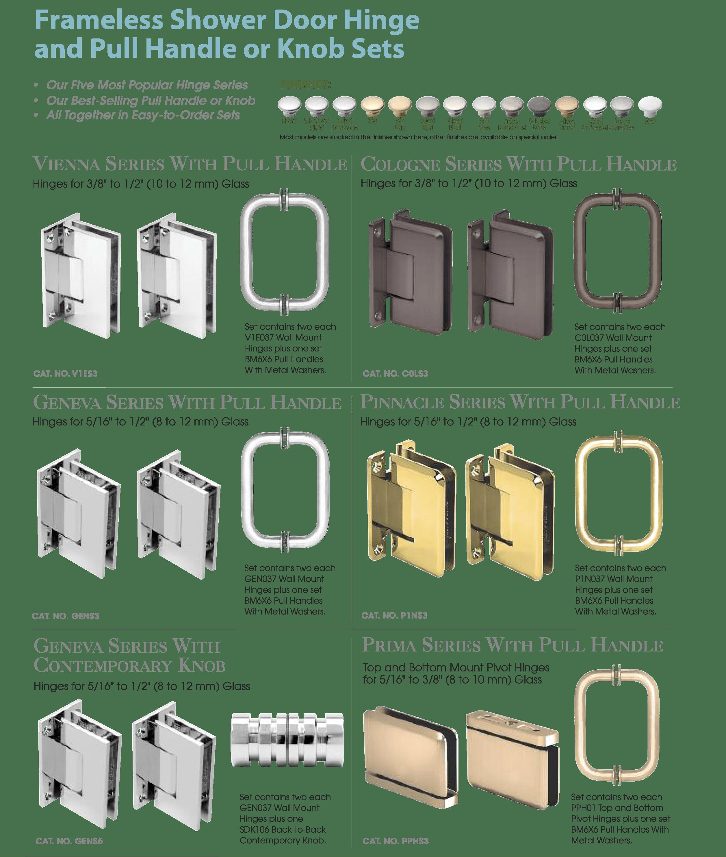 Hardware Katarina S Glass Shower Doors